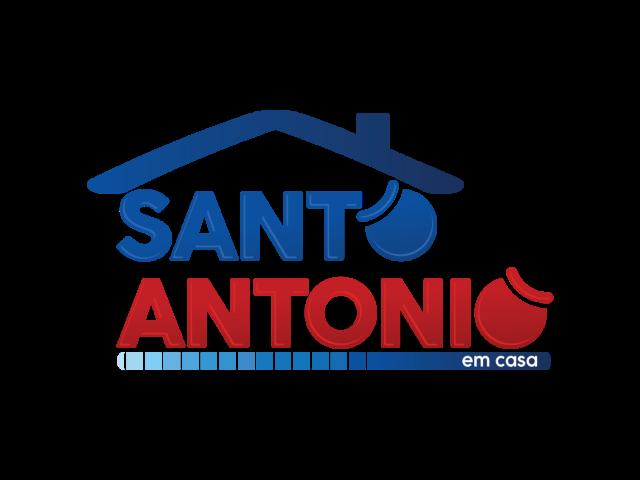 Logo do Santo Antonio em Casa